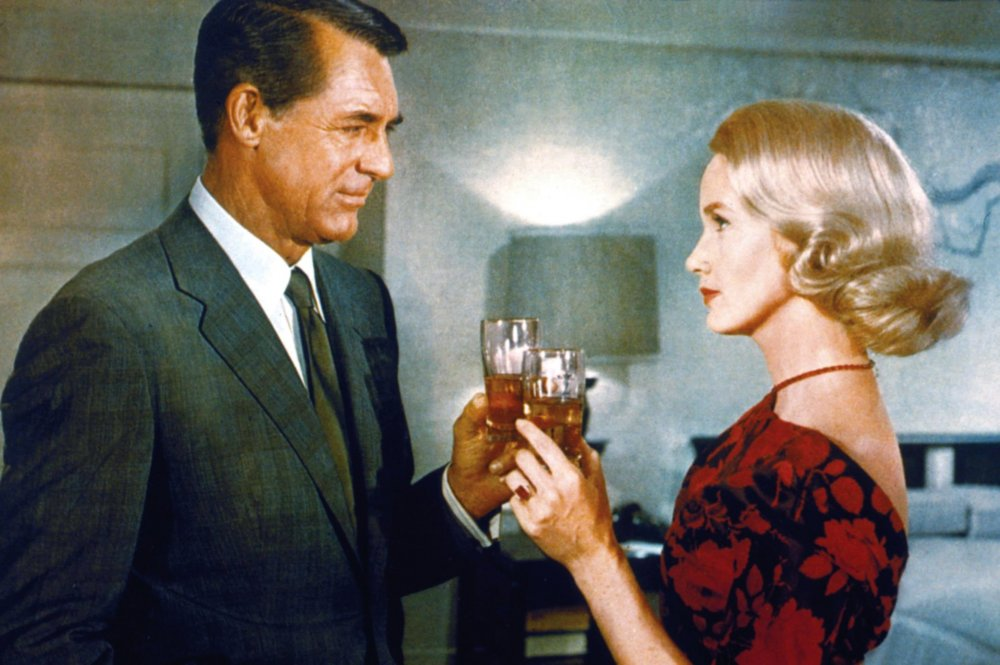 north-by-northwest-1959-007-roger-and-eve-toasting-in-hotel-room